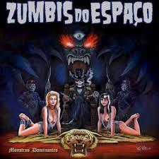 CD DUPLO - ZUMBIS DO ESPAÇO - MONSTROS DOMINANTES * DIGIPACK